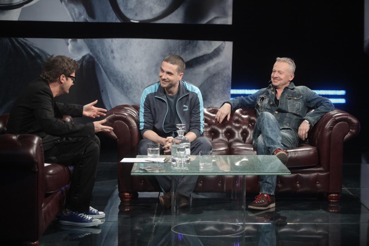 Bogusław Linda, Marcin Dorociński i Kuba Wojewódzki